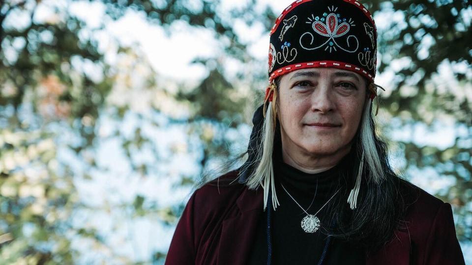 Patricia Bernard, cheffe de la Première Nation du Madawaska.
