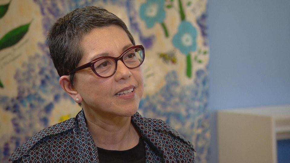 Photo de Patricia O'campo vice-présidente responsable de la recherche à l'Hôpital St. Michael's à Toronto.