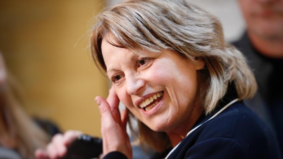La comédienne Patricia Tulasne