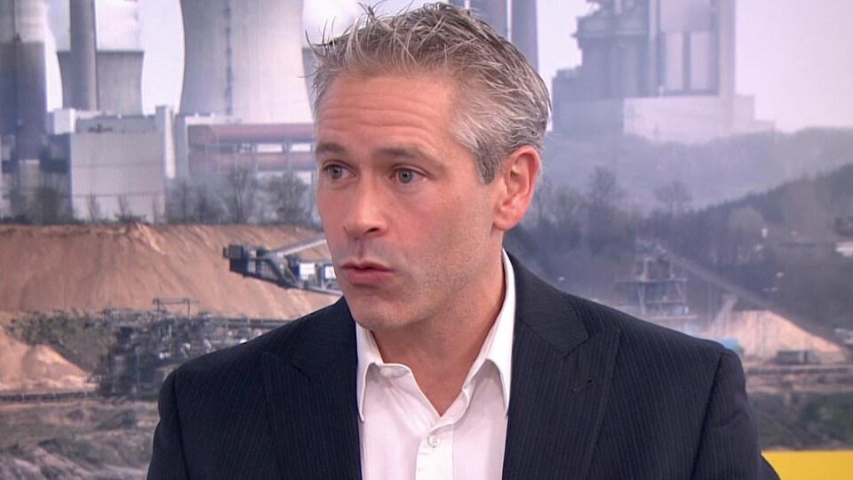 Patrick Bonin, responsable de la campagne Climat-Énergie de Greenpeace.