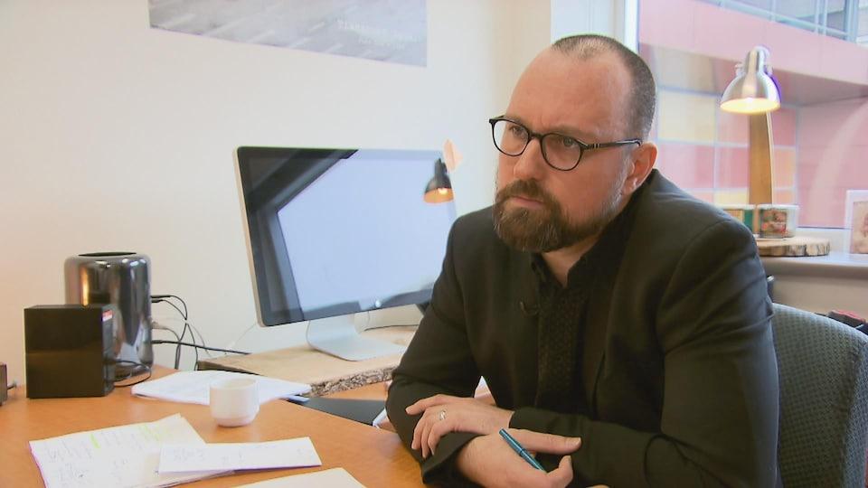 Patrick Martin, professeur à la Faculté de sciences infirmières de l'Université Laval