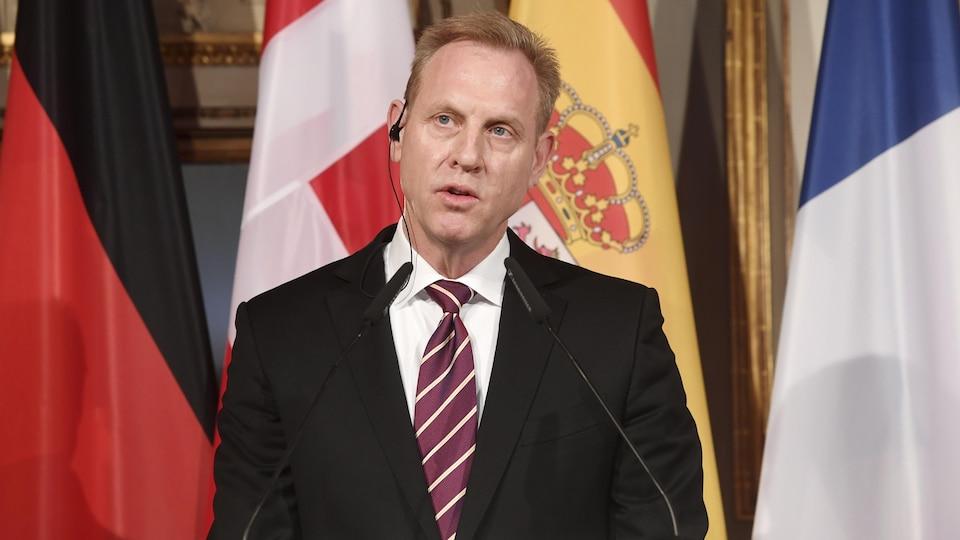 Le chef du Pentagone Patrick Shanahan participait en Allemagne à une réunion internationale lorsque le président américain a décrété vendredi «l'urgence nationale».