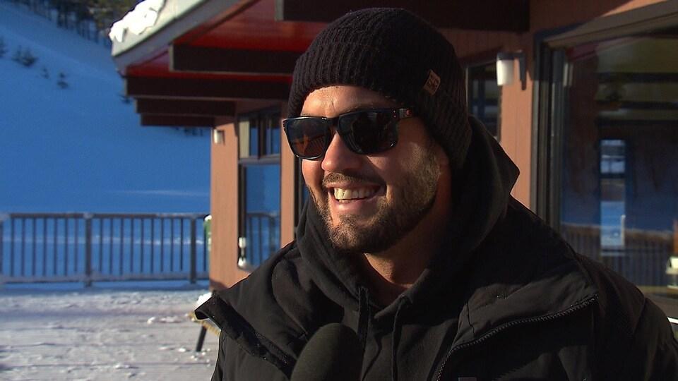 Patrick Pelletier fait partie de la nouvelle équipe de gestion du Mont Ti-Basse.