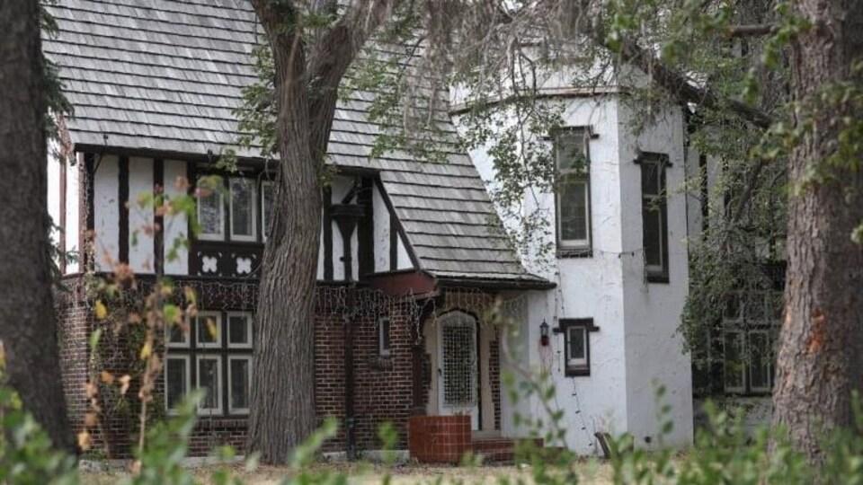 La résidence Cook à Regina.