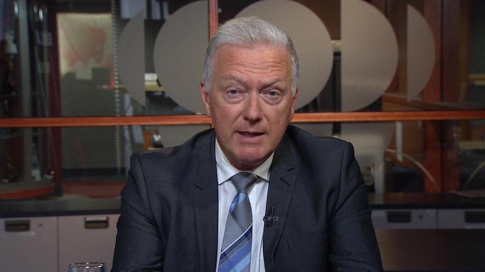 Paul Brunet, président du Conseil pour la protection des malades.