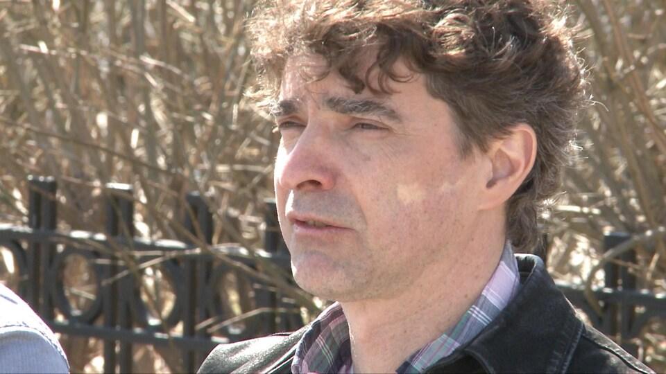 Paul Comeau, membre de la Coalition des opposants à un projet minier en Haute-Matawinie