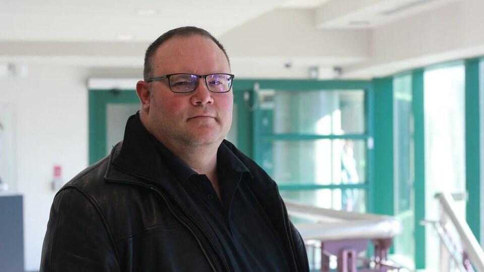 Paul Pellerin, conseiller municipal à la Ville de Moncton.