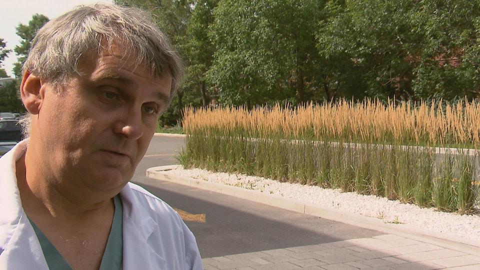 Paul Poirier, cardiologue à l'Institut universitaire de cardiologie et de pneumologie de Québec.