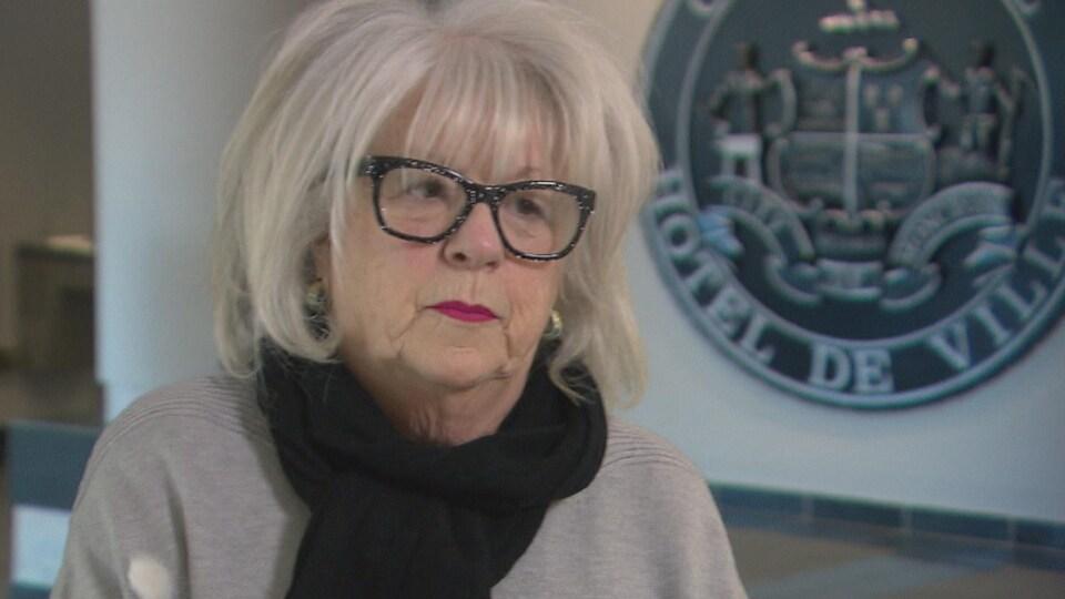 Portrait de Paulette Thériault, conseillère municipale à la Ville de Moncton.