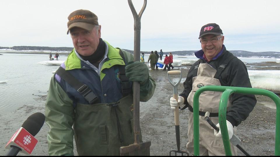 Des pêcheurs à la coque qui se font un devoir de perpétuer cette vieille tradition d'année en année