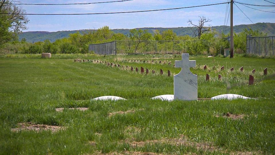 Des tombes dans un cimetière (archives).