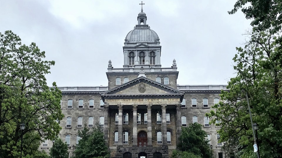 Le Pensionnat du Saint-Nom-de-Marie, dans Outremont, à Montréal.