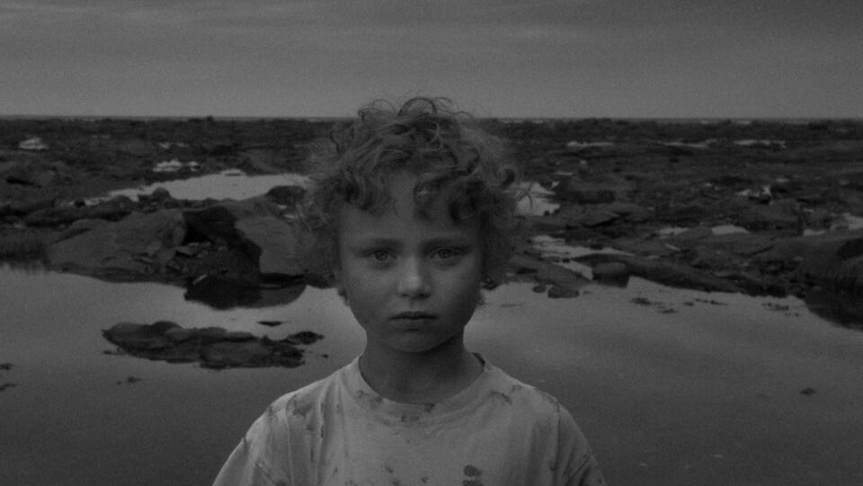 Jonathan Tremblay, il s'est vu remettre Le Météore Gaspésie - Les Îles pour L'air de vent.