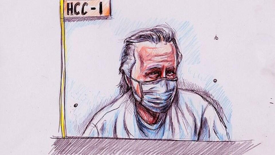 Peter Nygard a comparu par vidéoconférence à la troisième journée d'audience pour obtenir une libération sous caution.
