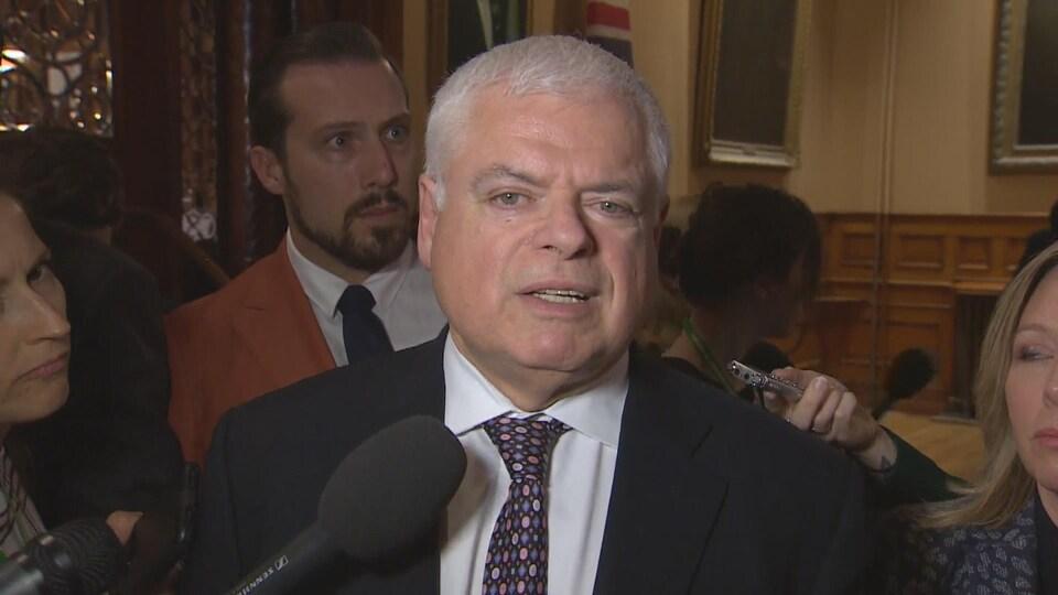 Le député néo-démocrate Peter Tabuns.