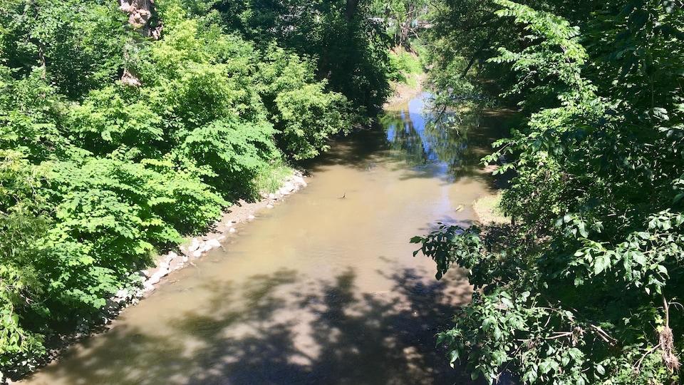 La petite rivière du Loup à Louiseville
