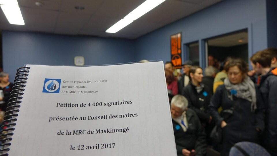 Document regroupant les signatures