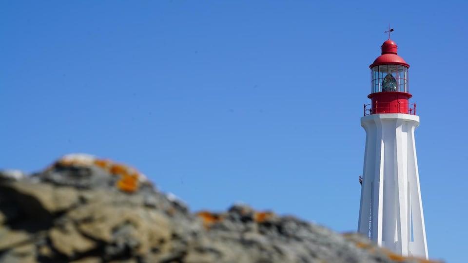 Le phare de Pointe-au-Père à Rimouski.