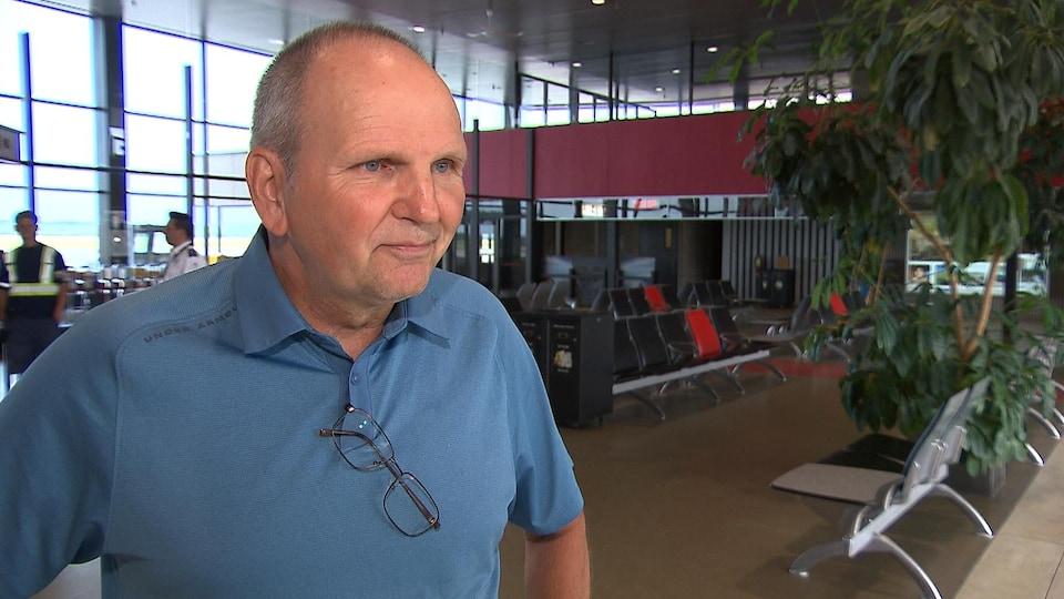 Philip Joycey, administrateur de la Commission scolaire du Littoral