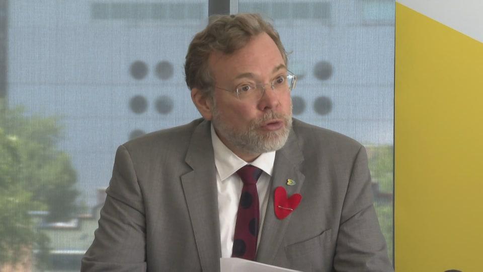 Philippe Schnobb, président du conseil d'administration de la STM.