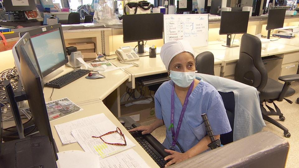 Lorraine Pinto, une travailleuse sociale