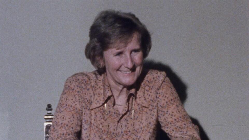 L'écrivaine acadienne Antonine Maillet, gagnante du prix Goncourt en 1979.