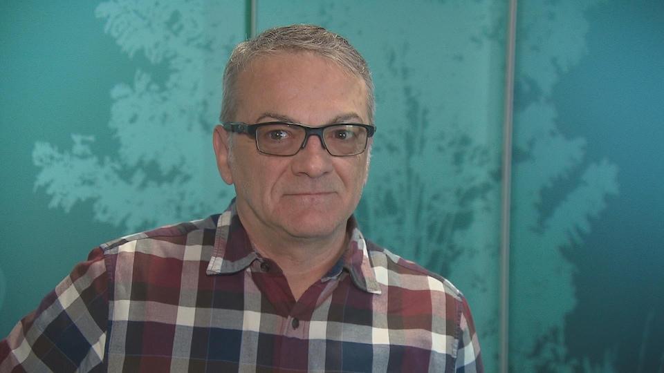 Le directeur de l'école des Sciences infirmières de l'Université de Moncton, Pierre Godbout.