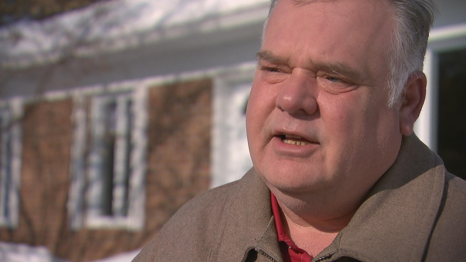 Pierre Gosselin, président de la filiale 265 de la Légion royale canadienne et vétéran de la guerre en Bosnie-Herzégovine.