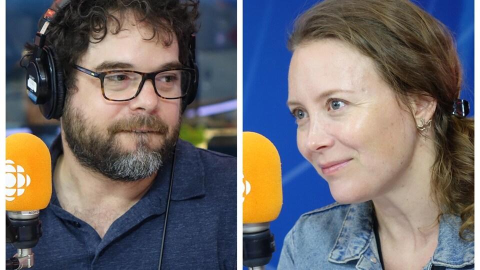 Pierre-Luc Brillant et Isabelle Blais.