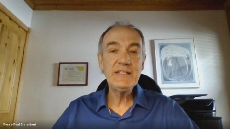 Pierre-Paul Malenfant, président de l'Ordre des travailleurs sociaux et des thérapeutes conjugaux et familiaux du Québec