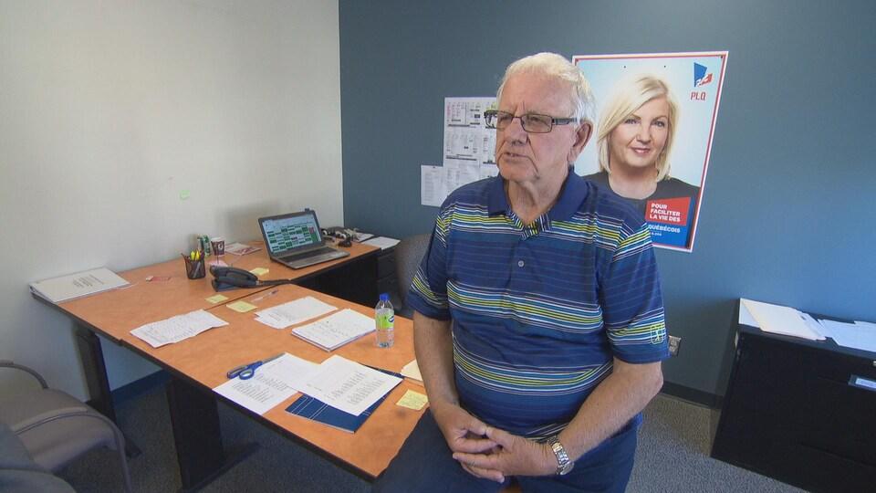 Pierre Philion organise des campagnes libérales en Outaouais depuis des décennies.