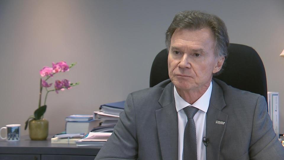 Le directeur général des élections du Québec, Pierre Reid