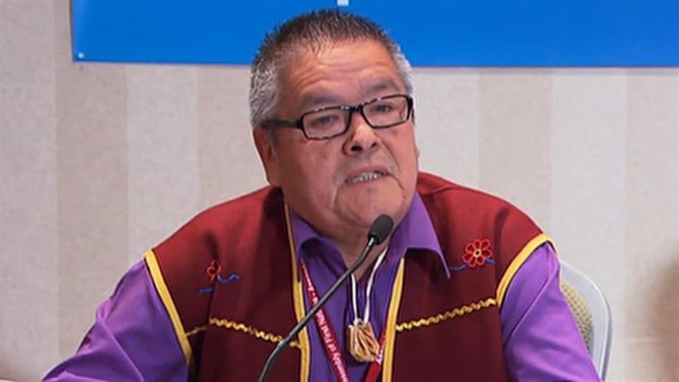 Le chef Jean-Charles Piétacho des Innus de Ekuanitshit