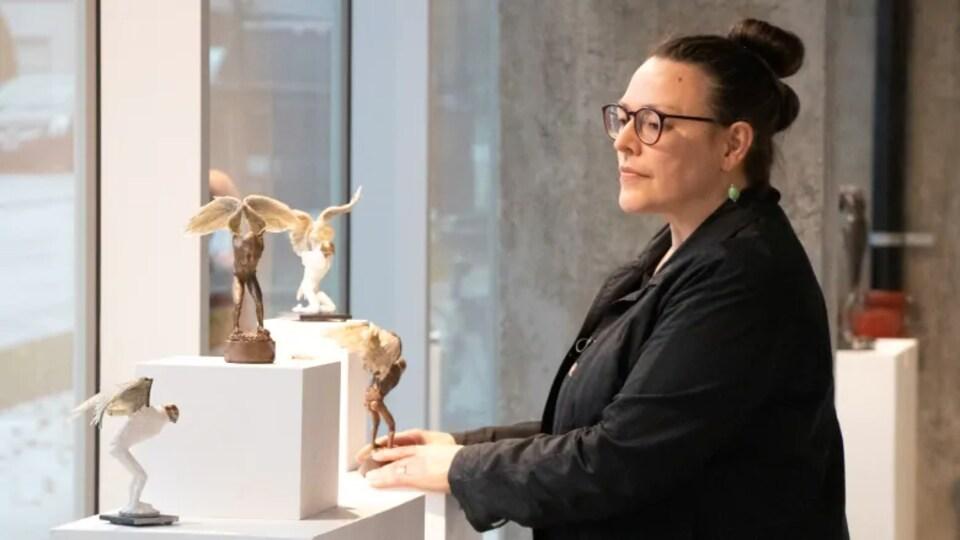 L'artiste Pilar Mehlis.