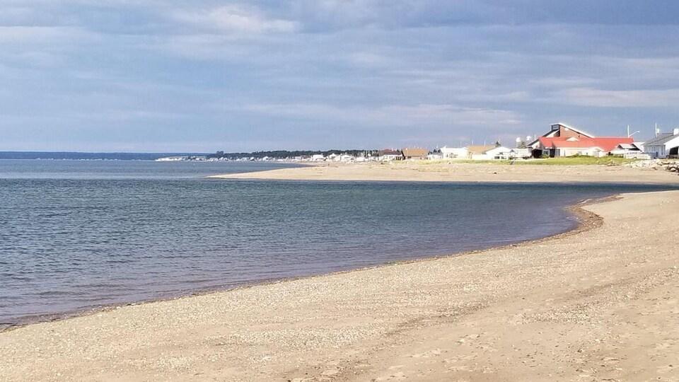 La plage de Beresford.