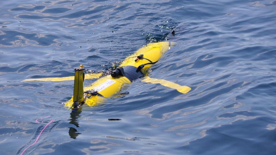 Le troisième planeur de l'Université Dalhousie sera déployé mi-juillet dans le golfe du Saint-Laurent. Il restera dans l'eau jusqu'en octobre.