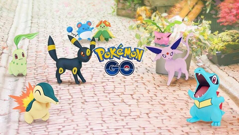 Plusieurs nouveaux Pokémon sont maintenant disponibles pour les joueurs