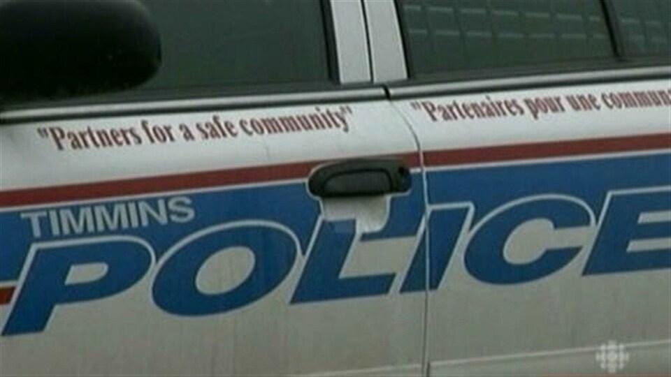 Autopatrouille de la police de Timmins.