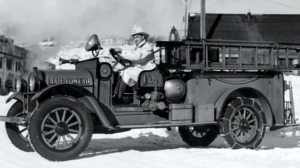 l'histoire de baie-comeau tout feu tout flamme | ici.radio-canada.ca