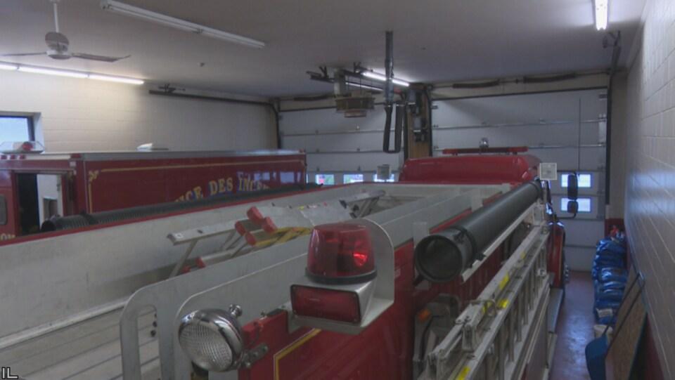 Les pompiers de Paquetville se sentent à l'étroit dans leur caserne
