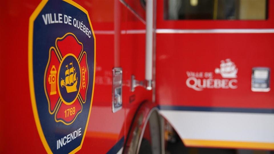 Le Service de protection contre l'incendie de Québec