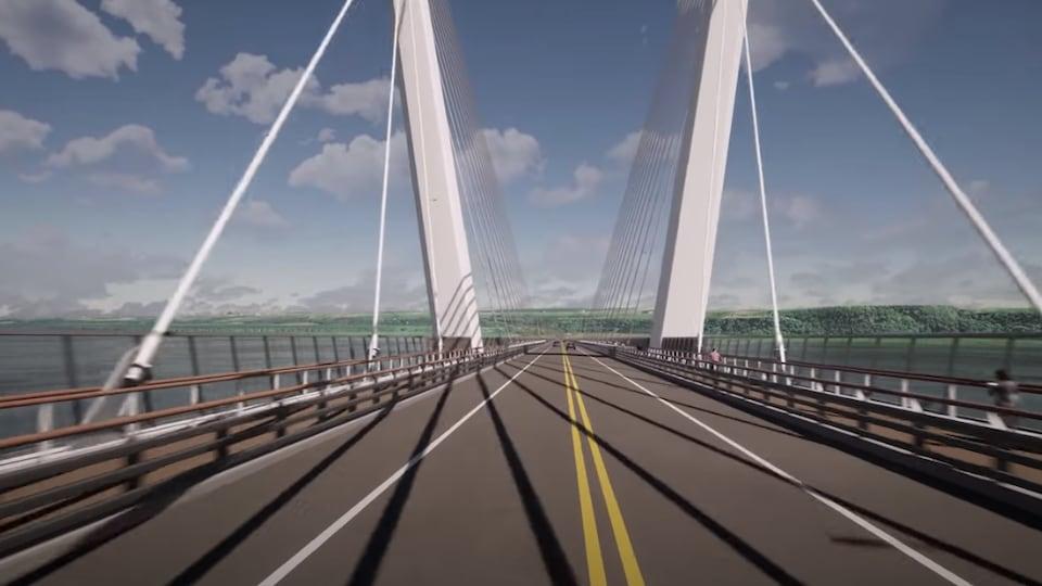 Les voies de circulation seront élargies, selon le ministère des Transports.