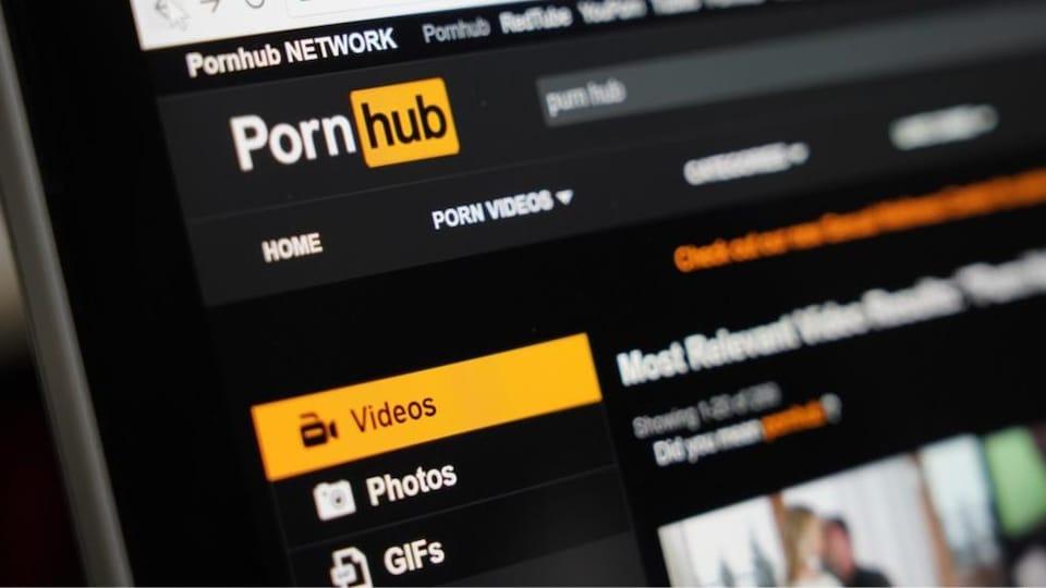 La page web de pornhub