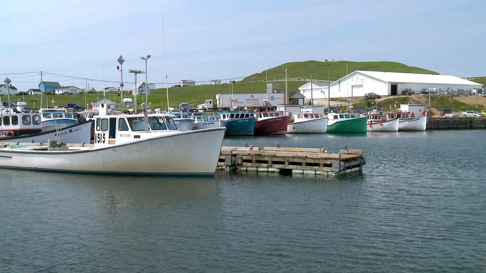 Le port de Grosse Île