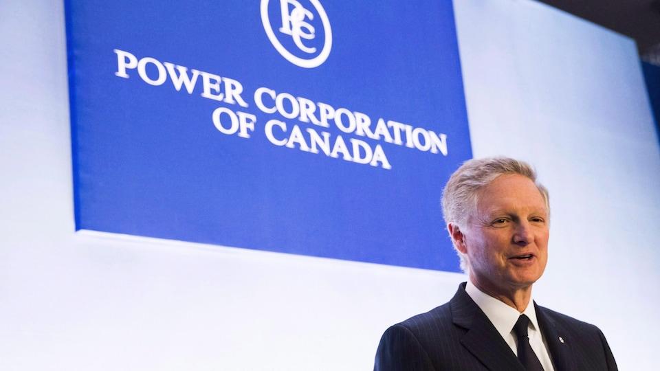 Paul Desmarais Junior, président du conseil et co-chef de la direction de Power Corporation du Canada.