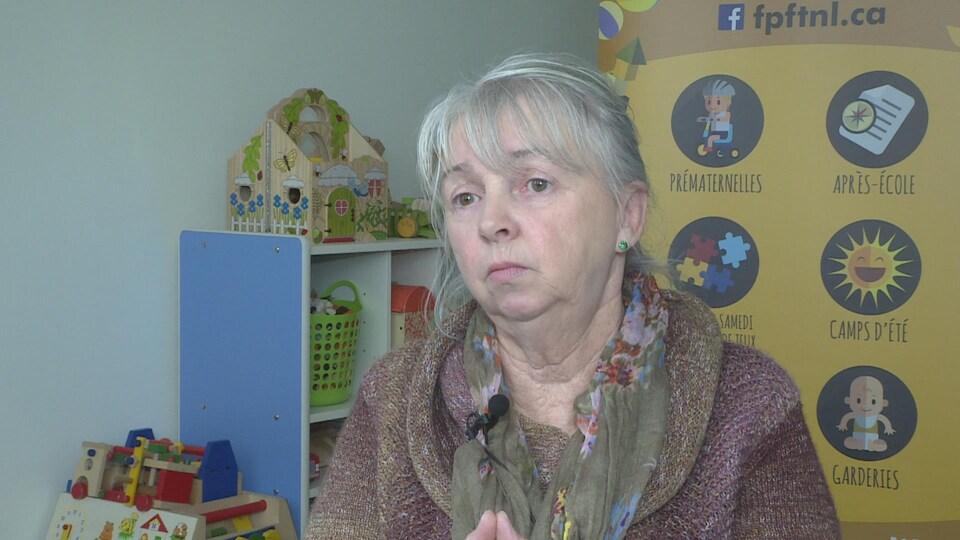 Portrait de Martine Fillion, directrice générale de la Fédération des parents francophone de Terre-Neuve-et-Labrador.