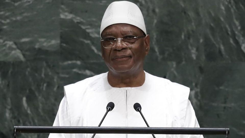Le président malien dans une photo d'archives de septembre 2019 au siège de l'ONU, à New York