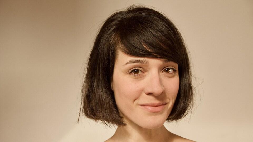 Un portrait de Priscilla Guy.