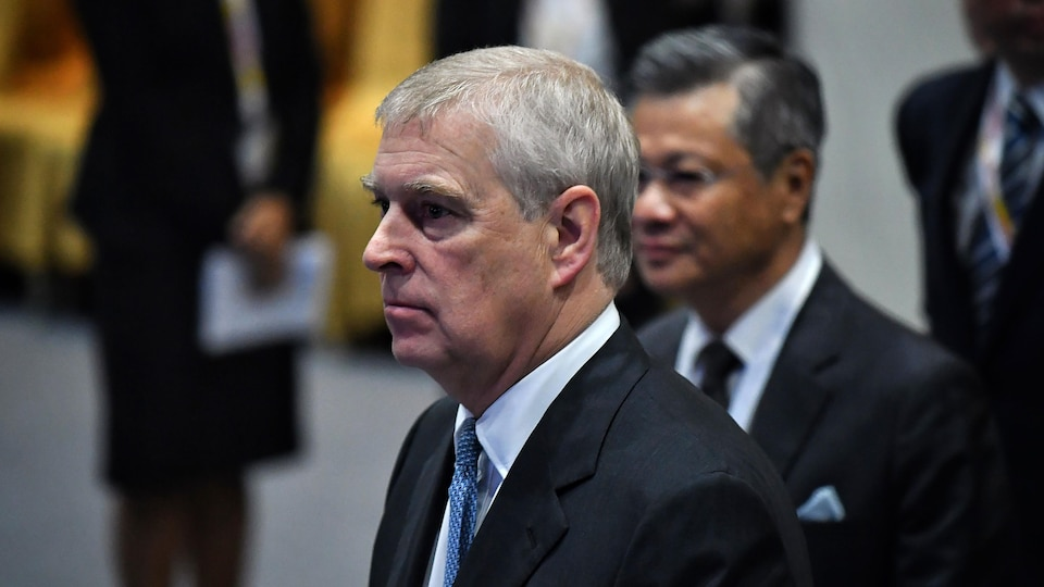 Le prince Andrew, duc d'York.