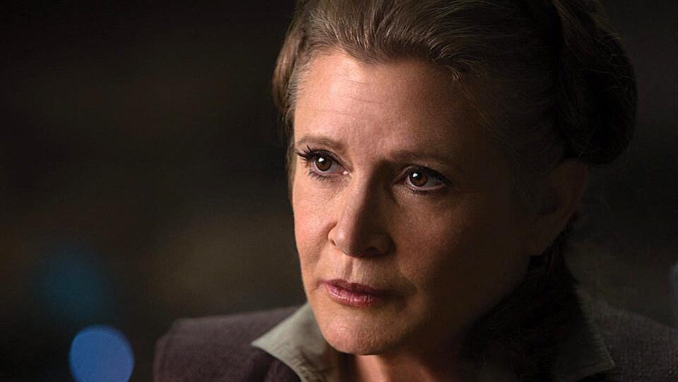 Carrie Fisher dans «Star Wars : le réveil de la force»